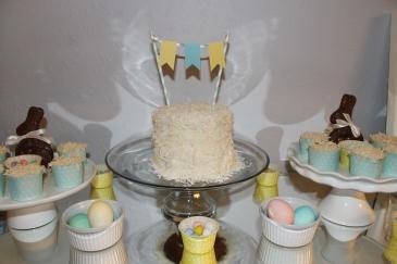 {Homemade Birthday Cake}