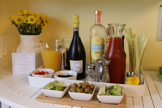 Brunch Drink Station