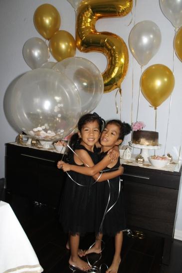 Zoe and Eva turn five!